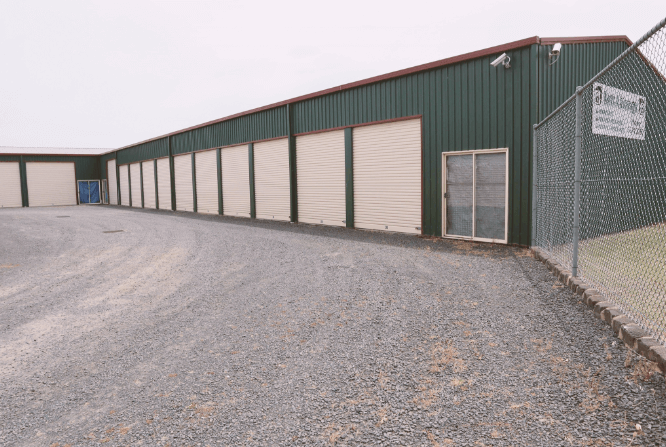 Lots A Storage Facility Sheds